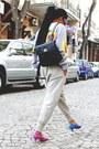 Blue-baroque-prada-sunglasses-yellow-ashish-sweater