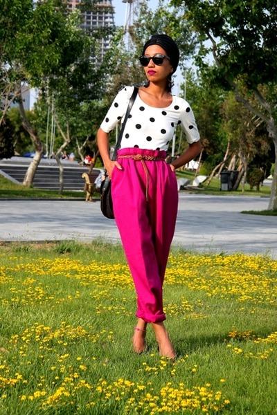 black Ray Ban sunglasses - pink BendOver Levi Strauss Vintage