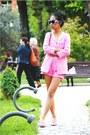 Hot-pink-kitten-heels-aldo-shoes-bubble-gum-zara-jacket