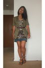 Free-people-dress-green-guess-blouse-blue-guess-skirt-black-naturalizer-sh