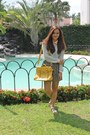 Yellow-satchel-summer-forever-bag-summer-forever-blouse-cottong-on-skirt