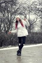 BSK jacket - boots - Takko hat - homemade leggings