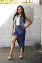 Hot Miami Styles skirt - denim vest Hot Miami Styles vest