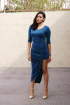 jersey fancy steps dress - Forever 21 heels