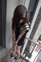 black shopnastygal dress - black Jill Stuart shoes