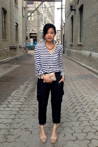 Zara shirt - Zara shoes - BCBG pants