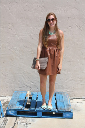 Dolce Vita shoes - Dillards dress - francescas purse - francescas necklace