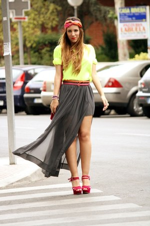 Zara skirt - Primark shirt
