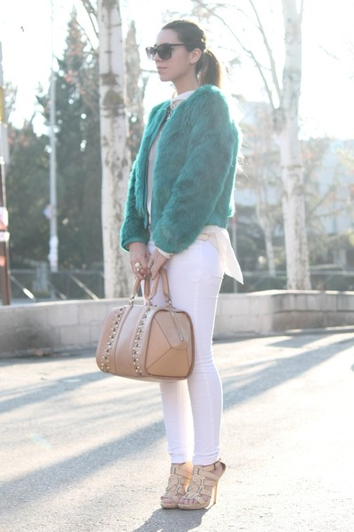 Zara bag - BLANCO coat