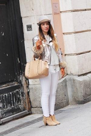Zara bag - Mango jacket