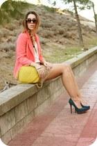 BLANCO blazer - Zara skirt