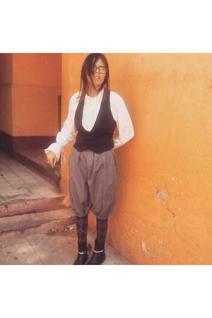 c&a boots - handmade pants