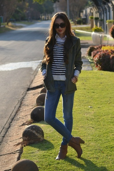 Zara jeans - Mr Price jacket - ray-ban sunglasses
