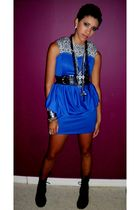 blue Isabella Louis dress