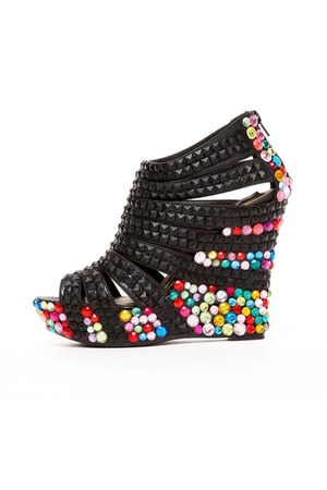 jeweled wedge Haus of Price wedges