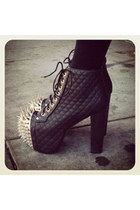 spiked lita Jeffrey Campbell boots