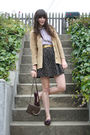 Vintage-cardigan-marc-by-marc-jacobs-blouse-thrifted-skirt-zara-purse-th