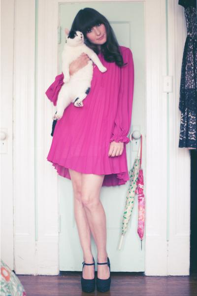 vintage dress - Forever 21 shoes