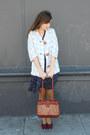 Vintage-shoes-vintage-dress-vintage-bag-thrifted-belt