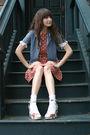 Vintage-blouse-vintage-dress-j-crew-belt-topshop-shoes-urban-outfitters-