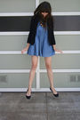 Thrifted-dress-j-crew-cardigan-j-crew-shoes-thrifted-necklace