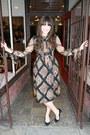 Vintage-oscar-de-la-renta-dress-j-crew-heels