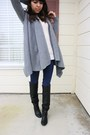 Black-thrifted-boots-navy-bdg-jeans-cream-thrifted-sweater-heather-gray-al