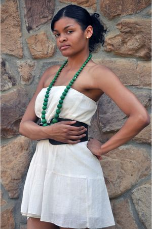 skirt - charlotte russes belt - necklace