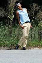 H&M pants - Aldo shoes - thirft shirt