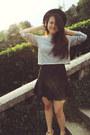Zara-skirt-forever21-hat-zara-sweater-casio-watch