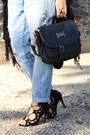 Blue-boyfriend-zara-pants-white-stripped-h-m-shirt-black-romwe-bag