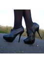 Pink-vintage-blazer-black-vintage-skirt-black-vintage-belt-white-unknown-s