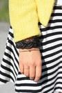 Yellow-sheinside-jacket-white-moschino-belt-black-primark-skirt