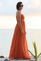 carrot orange AX Paris dress