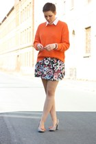 H&M skirt - Primark shoes - Vero Moda sweater