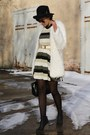 H-m-boots-stripes-ax-paris-dress-fur-coat-bag
