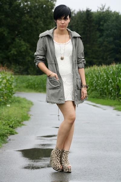 united states new styles sale uk Dark Brown Leopard Print Wedges, Ivory Tom Tailor Dresses ...