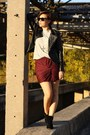 Studded-sheinside-jacket-zara-shirt-new-yorker-skirt-schuhtempel-24-wedges