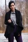 Purple-jeans-black-primark-boots-black-oasis-jacket