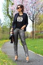 Black-h-m-blazer-silver-qs-by-soliver-pants-black-sequined-tiger-only-top