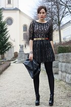 lace AX Paris dress - Buffalo boots