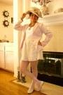 Forever-21-blazer-h-m-socks-forever-21-skirt-target-stockings