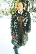 fur ears Atelier AUREA accessories - fake fur Venera Arapu coat