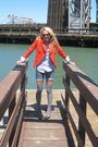 Jcrew-blazer-diy-cut-offs-shorts-gap-blouse-madewell-leggings-gap-shoes