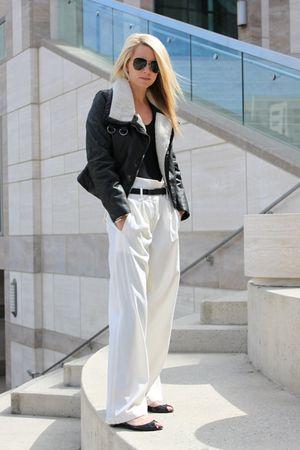Elizabeth and James pants - Christian Louboutin shoes - H&M jacket