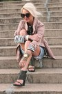 H-m-jacket-saint-james-shirt-vintage-shorts-alexander-wang-heels