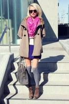 ann taylor scarf - Luxury Rebel boots - a wang dress - madewell socks