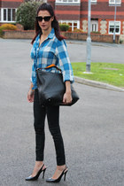 Dorothy Perkins shirt - new look jeans - Gucci bag
