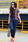 Navy-skinny-jeans-zara-jeans-black-mesh-asos-top