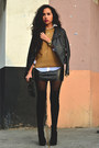Black-gojane-boots-black-leather-zara-jacket-tawny-knit-zara-sweater
